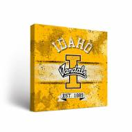 Idaho Vandals Banner Canvas Wall Art