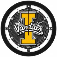 Idaho Vandals Carbon Fiber Wall Clock