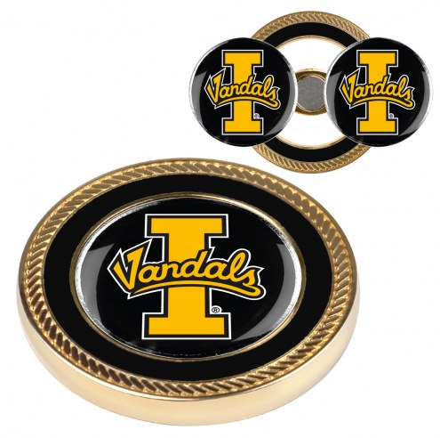 Idaho Vandals Challenge Coin with 2 Ball Markers