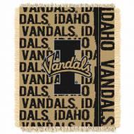 Idaho Vandals Double Play Woven Throw Blanket