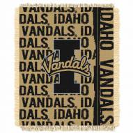 Idaho Vandals Double Play Woven Throw Blanket