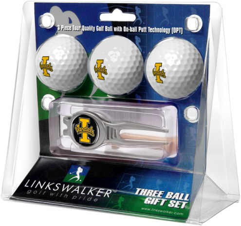 Idaho Vandals Golf Ball Gift Pack with Kool Tool