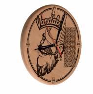 Idaho Vandals Laser Engraved Wood Clock