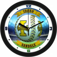 Idaho Vandals Home Run Wall Clock