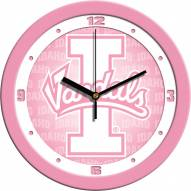 Idaho Vandals Pink Wall Clock