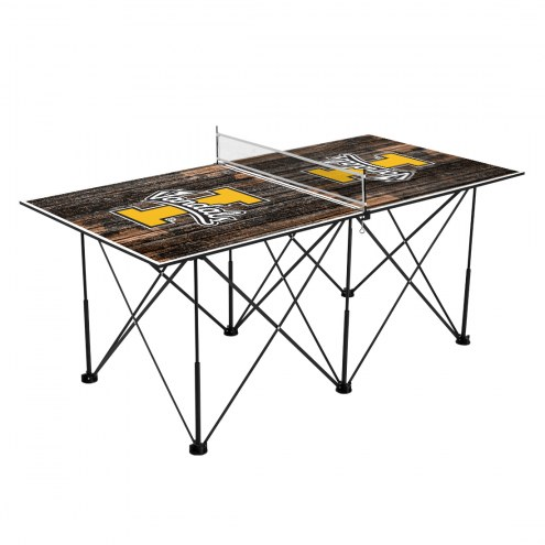 Idaho Vandals Pop Up 6' Ping Pong Table