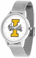 Idaho Vandals Silver Mesh Statement Watch