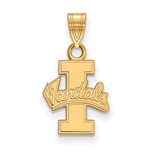 Idaho Vandals Sterling Silver Gold Plated Small Pendant