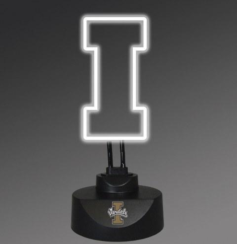 Idaho Vandals Team Logo Neon Lamp
