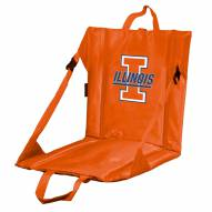 Illinois Fighting Illini Orange Stadium Seat