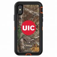 Illinois-Chicago Flames OtterBox iPhone X Defender Realtree Camo Case