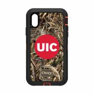 Illinois-Chicago Flames OtterBox iPhone XR Defender Realtree Camo Case