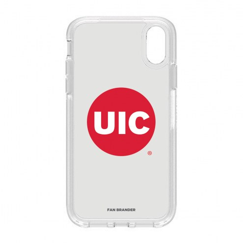 Illinois-Chicago Flames OtterBox iPhone XR Symmetry Clear Case