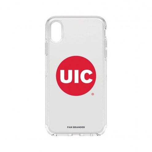 Illinois-Chicago Flames OtterBox iPhone XS Max Symmetry Clear Case