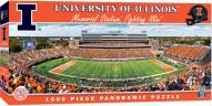 Illinois Fighting Illini 1000 Piece Panoramic Puzzle