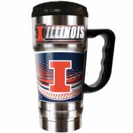 Illinois Fighting Illini 20 oz. Champ Travel Mug