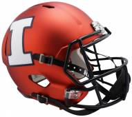 Illinois Fighting Illini Riddell Speed Collectible Football Helmet