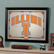 "Illinois Fighting Illini 23"" x 18"" Mirror"