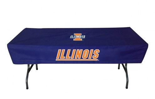 Illinois Fighting Illini 6' Table Cover