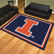 Illinois Fighting Illini 8' x 10' Area Rug