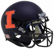 Illinois Fighting Illini Alternate 11 Schutt Mini Football Helmet