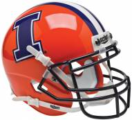 Illinois Fighting Illini Alternate 2 Schutt Mini Football Helmet