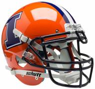 Illinois Fighting Illini Alternate 2 Schutt XP Authentic Full Size Football Helmet