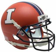 Illinois Fighting Illini Alternate 3 Schutt Mini Football Helmet
