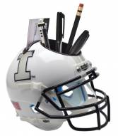 Illinois Fighting Illini Alternate 4 Schutt Football Helmet Desk Caddy