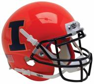 Illinois Fighting Illini Alternate 8 Schutt Mini Football Helmet