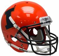 Illinois Fighting Illini Alternate 8 Schutt XP Collectible Full Size Football Helmet