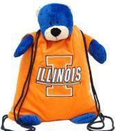 Illinois Fighting Illini Backpack Pal