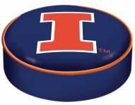 Illinois Fighting Illini Bar Stool Seat Cover