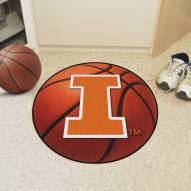 Illinois Fighting Illini Basketball Mat