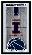 Illinois Fighting Illini Basketball Mirror