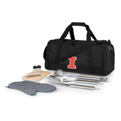 Illinois Fighting Illini BBQ Kit Cooler