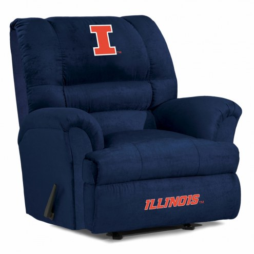 Illinois Fighting Illini Big Daddy Recliner
