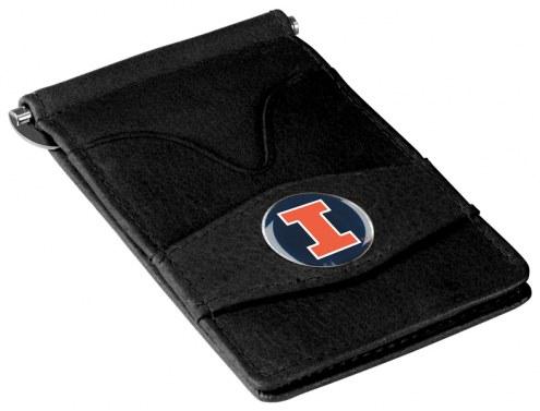 Illinois Fighting Illini Black Player's Wallet
