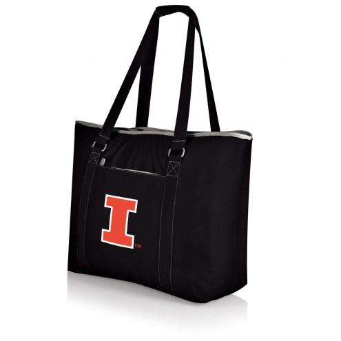 Illinois Fighting Illini Black Tahoe Beach Bag