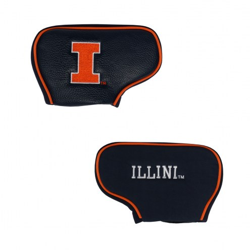 Illinois Fighting Illini Blade Putter Headcover