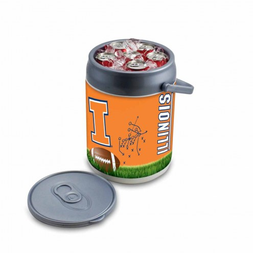 Illinois Fighting Illini Can Cooler