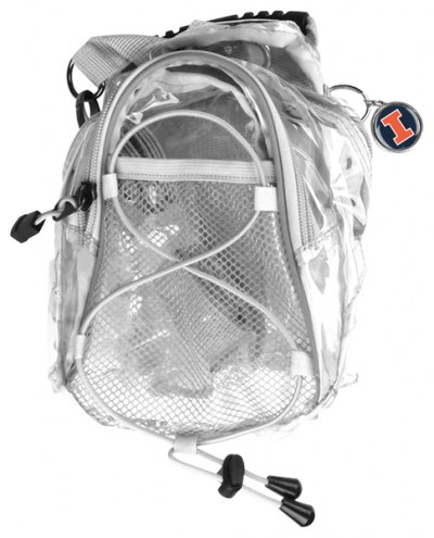 Illinois Fighting Illini Clear Event Day Pack