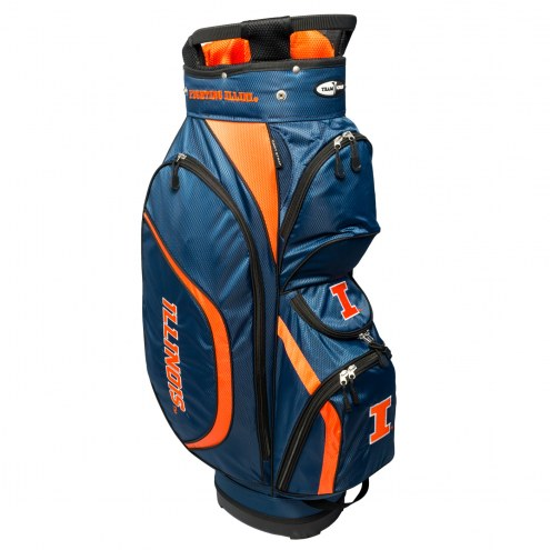 Illinois Fighting Illini Clubhouse Golf Cart Bag