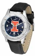 Illinois Fighting Illini Competitor AnoChrome Men's Watch