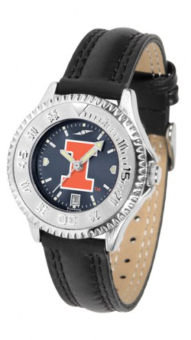 Illinois Fighting Illini Competitor AnoChrome Women's Watch