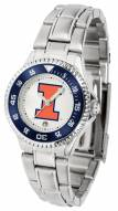 Illinois Fighting Illini Competitor Steel Women's Watch