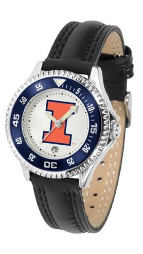 Illinois Fighting Illini Competitor Women's Watch