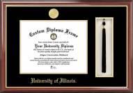 Illinois Fighting Illini Diploma Frame & Tassel Box