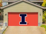 Illinois Fighting Illini Double Garage Door Banner