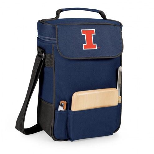 Illinois Fighting Illini Duet Insulated Wine Bag